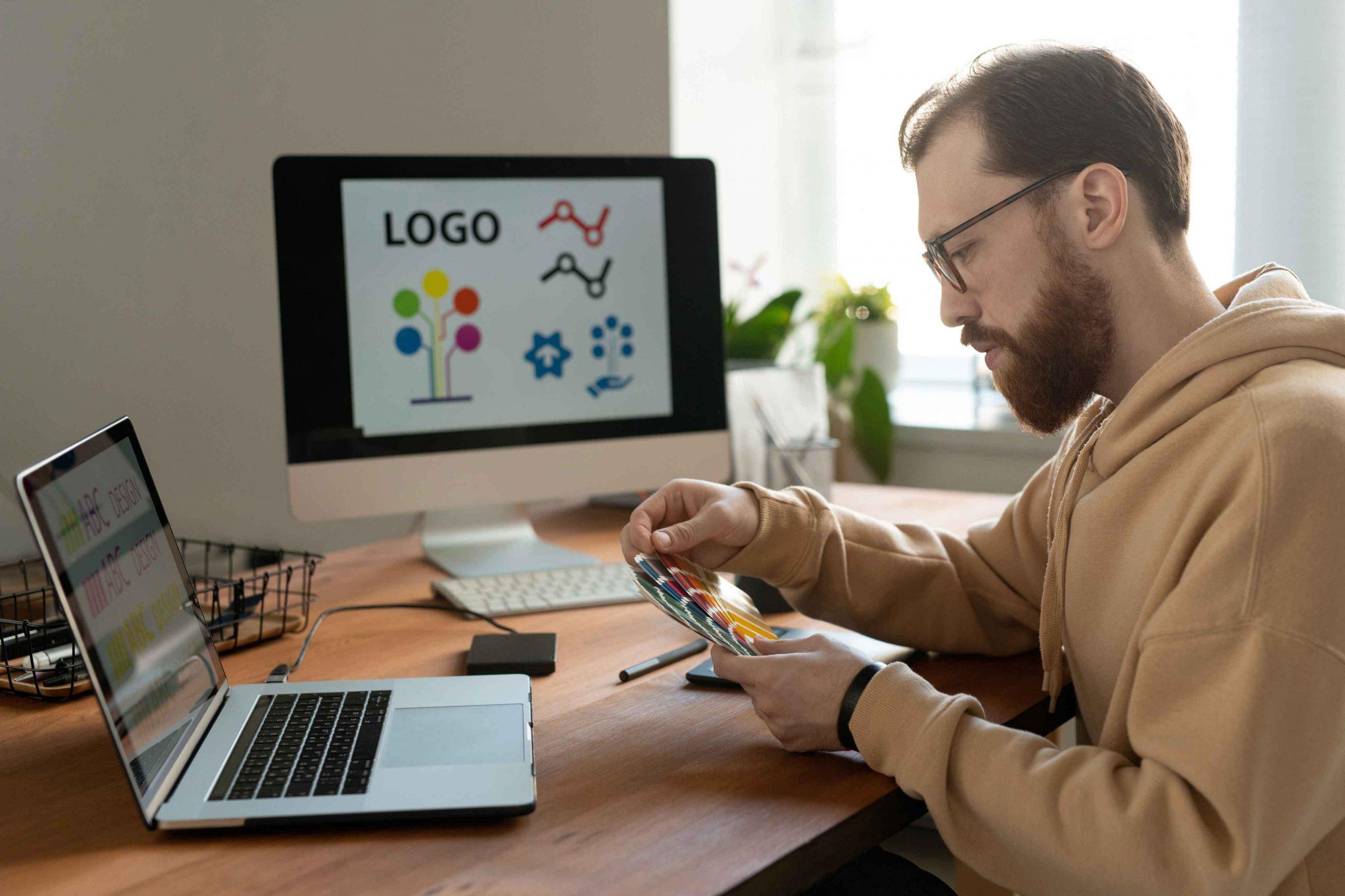 Creación de marca y diseño de logotipo